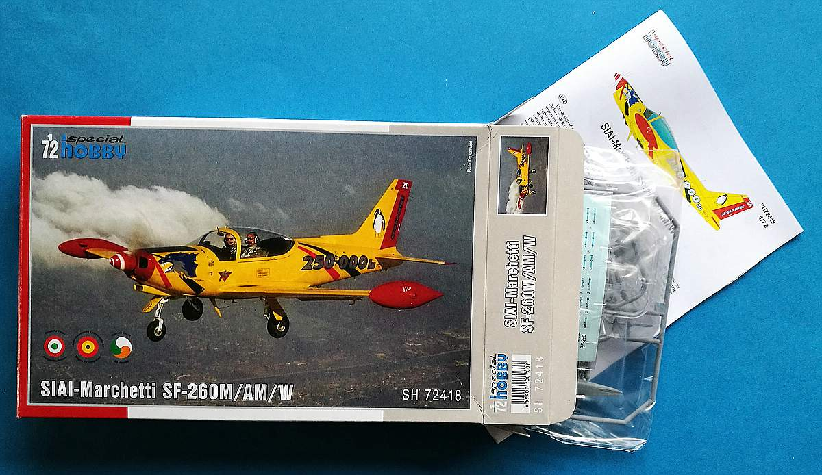 SpecialHobby-SH-72418-SIAI-Marchetti-SF-260-16 SIAI-Marchetti SF-260 in 1:72 von SpecialHobby #SH 72418