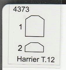 CMK-4373-Harrier-T-21 Umbausatz zum Harrier T.12 Doppelsitzer von CMK in 1:48 #4373