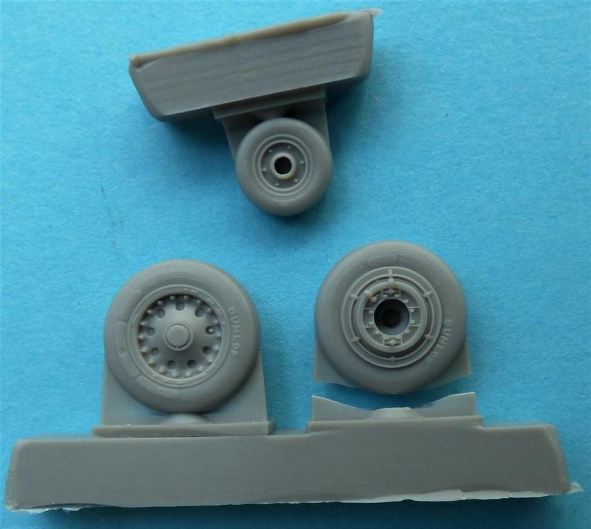 CMK-Q-48380-und-48381-Raedersets-Strafighter-4 Rädersätze von CMK für die Kinetic Starfighter (frühe und späte Ausführung) in 1:48 #48380 und 48381