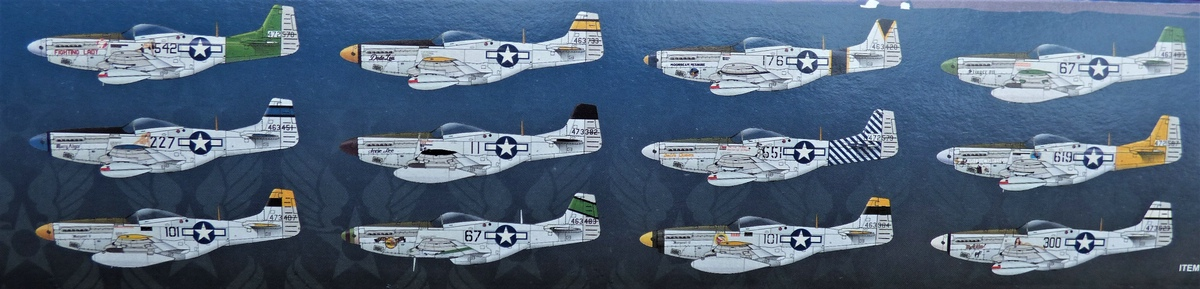 "Eduard-11142-P-51-Mustang-""Very-Long-Range-Tales-of-Iwojima-3 P-51 Mustang ""Very Long Range: Tales of Iwojima"" Limited Edition von Eduard in 1:48 #11142"