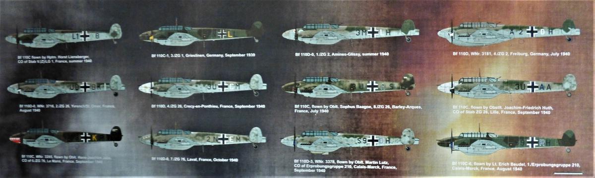 "Eduard-11145-Adlertag-Bf-110-2 ""Adlertag"" Limited Edition Bf-110 von Eduard in 1:48 #11145"