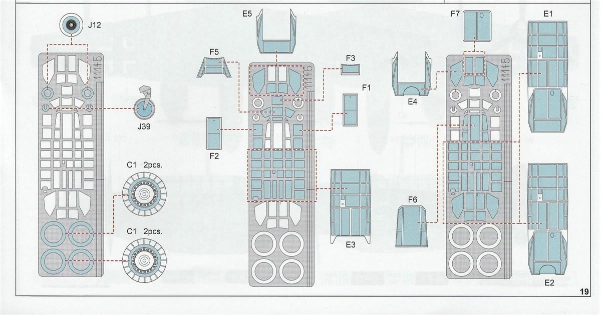 "Eduard-11145-Adlertag-Bf-110-79 ""Adlertag"" Limited Edition Bf-110 von Eduard in 1:48 #11145"