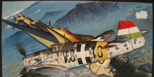 "Messerschmitt Bf 109 G-6, ""Hungarian Puma""  von Fujimi # 48008"
