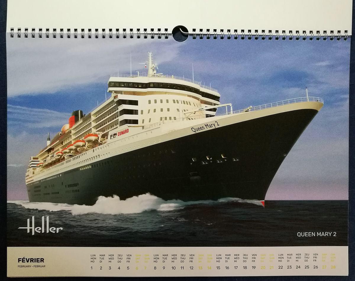 Heller-Kalender-2021-3 Modellbau-Kalender 2021 von Heller