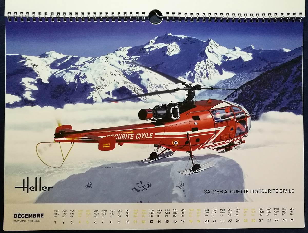 Heller-Kalender-2021-4 Modellbau-Kalender 2021 von Heller