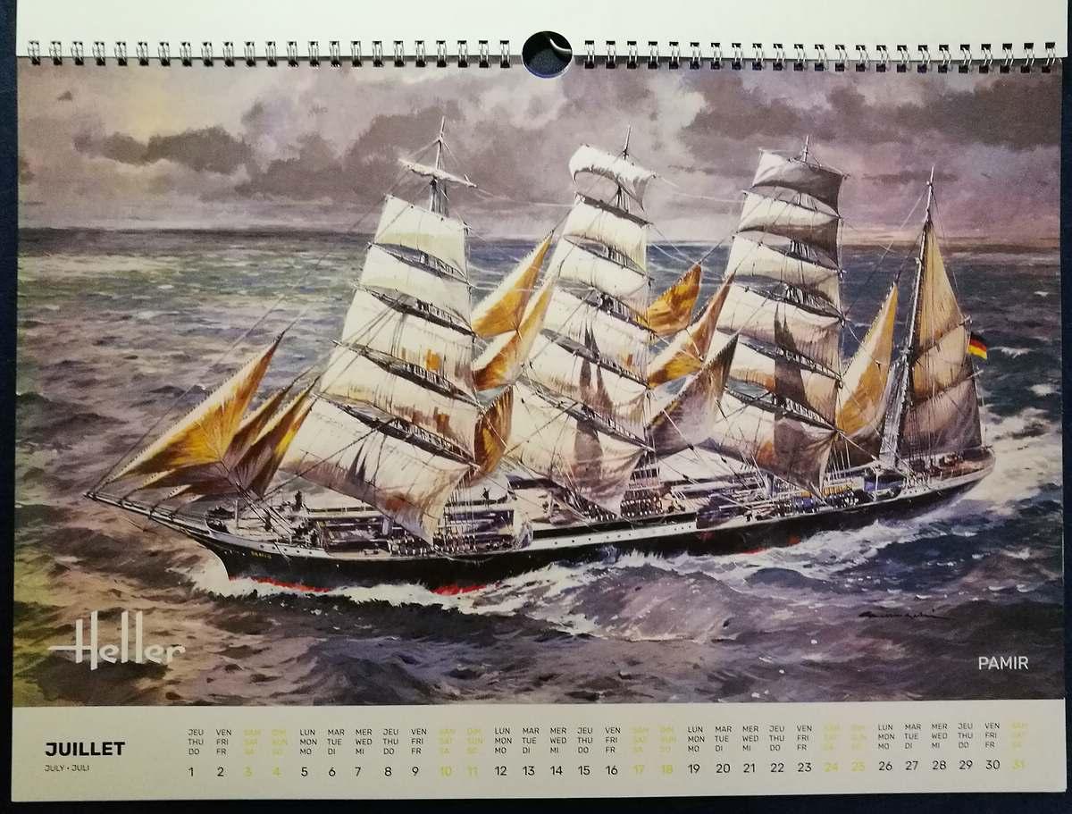 Heller-Kalender-2021-6 Modellbau-Kalender 2021 von Heller