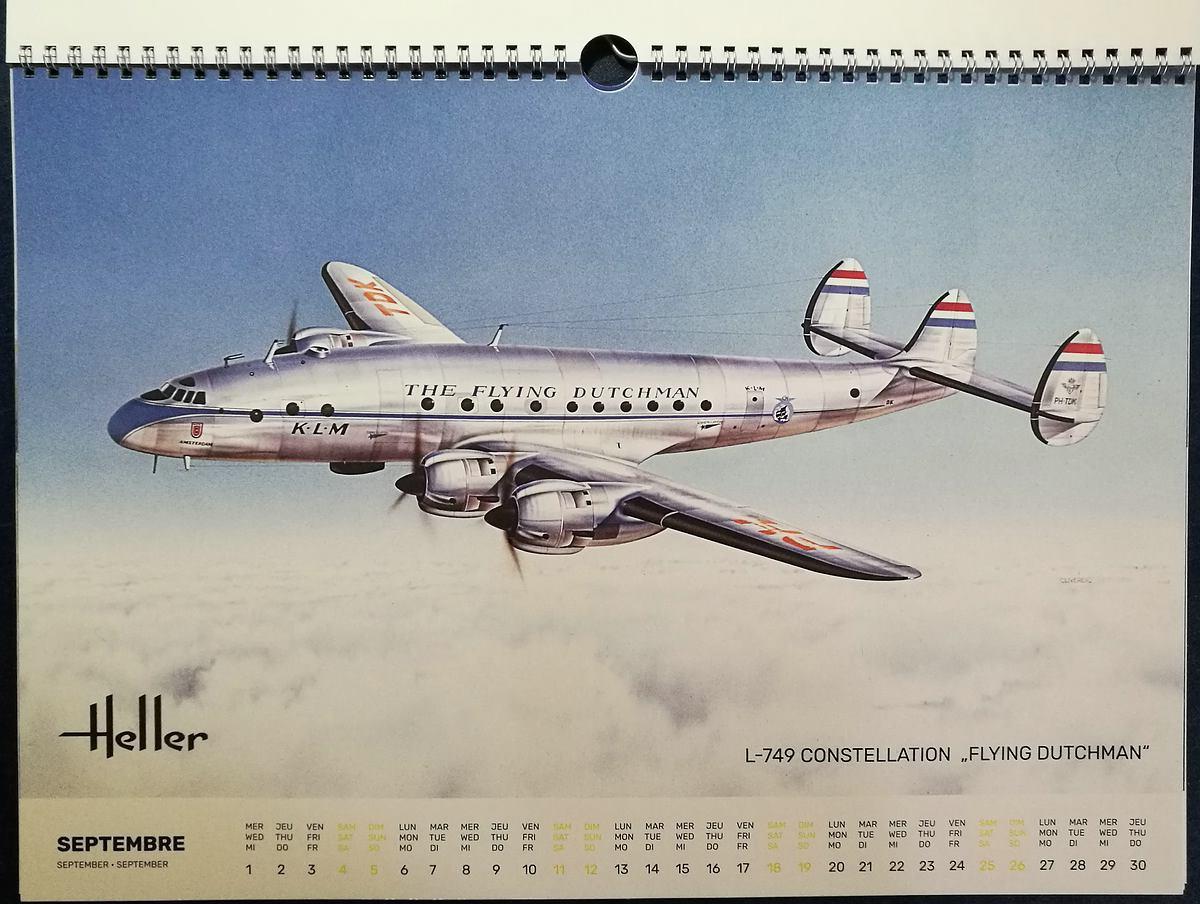 Heller-Kalender-2021-7 Modellbau-Kalender 2021 von Heller