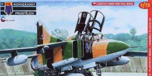 MiG-23 UM in 1:72 von Kovozavody # KPM 0141