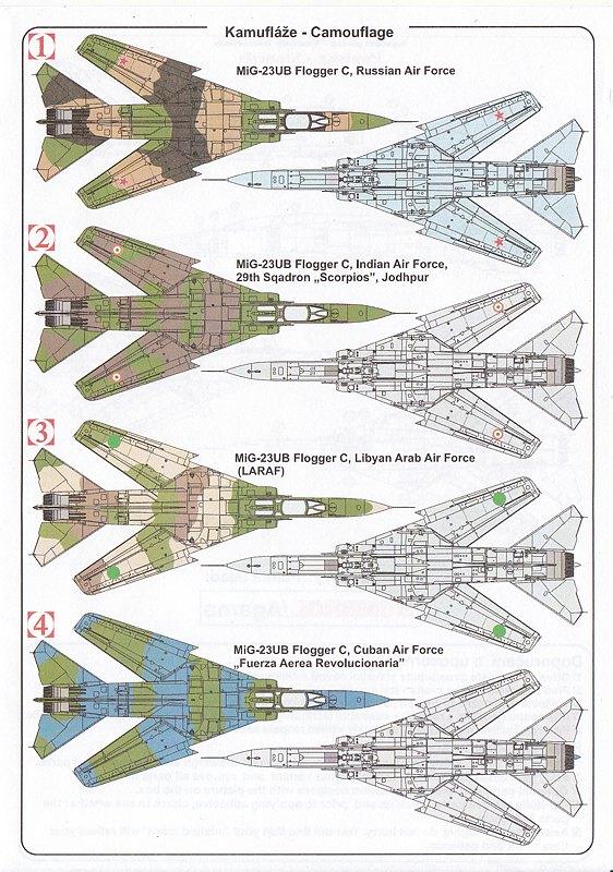 Kovozavody-KPM-0141-MiG-23-UM-19 MiG-23 UM in 1:72 von Kovozavody # KPM 0141