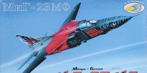 MiG-23 MF in 1:72 von R.V. Aircraft # 72001