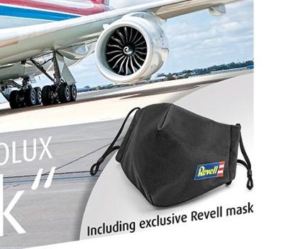 REvell-03836-Boeing-747-8F-CARGOLUX-LX-VCF-Facemask-C-Cargolux Revell Neuheiten 2021