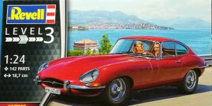 Jaguar E-Type in 1:24 von Revell # 07668