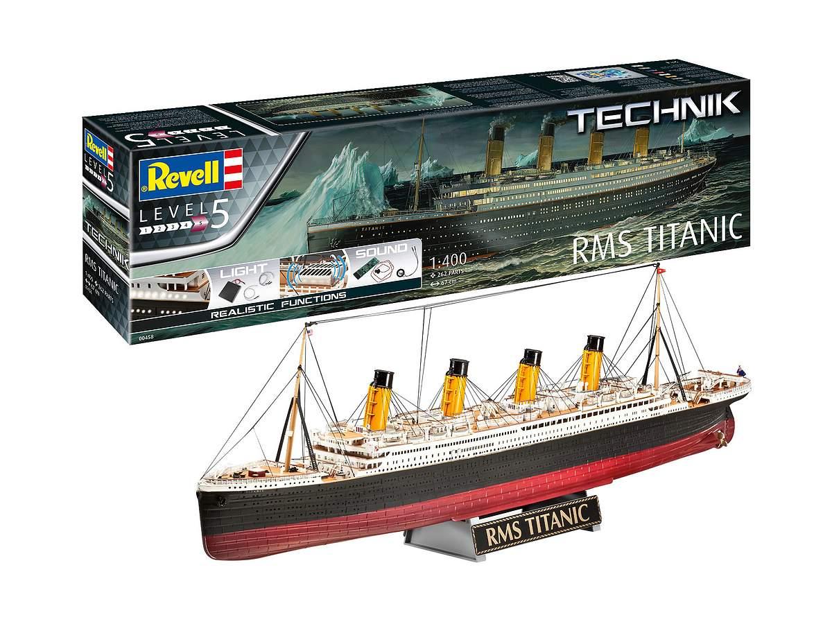 Revell-00458_RMS_Titanic_Technik_02 Revell Neuheiten 2021