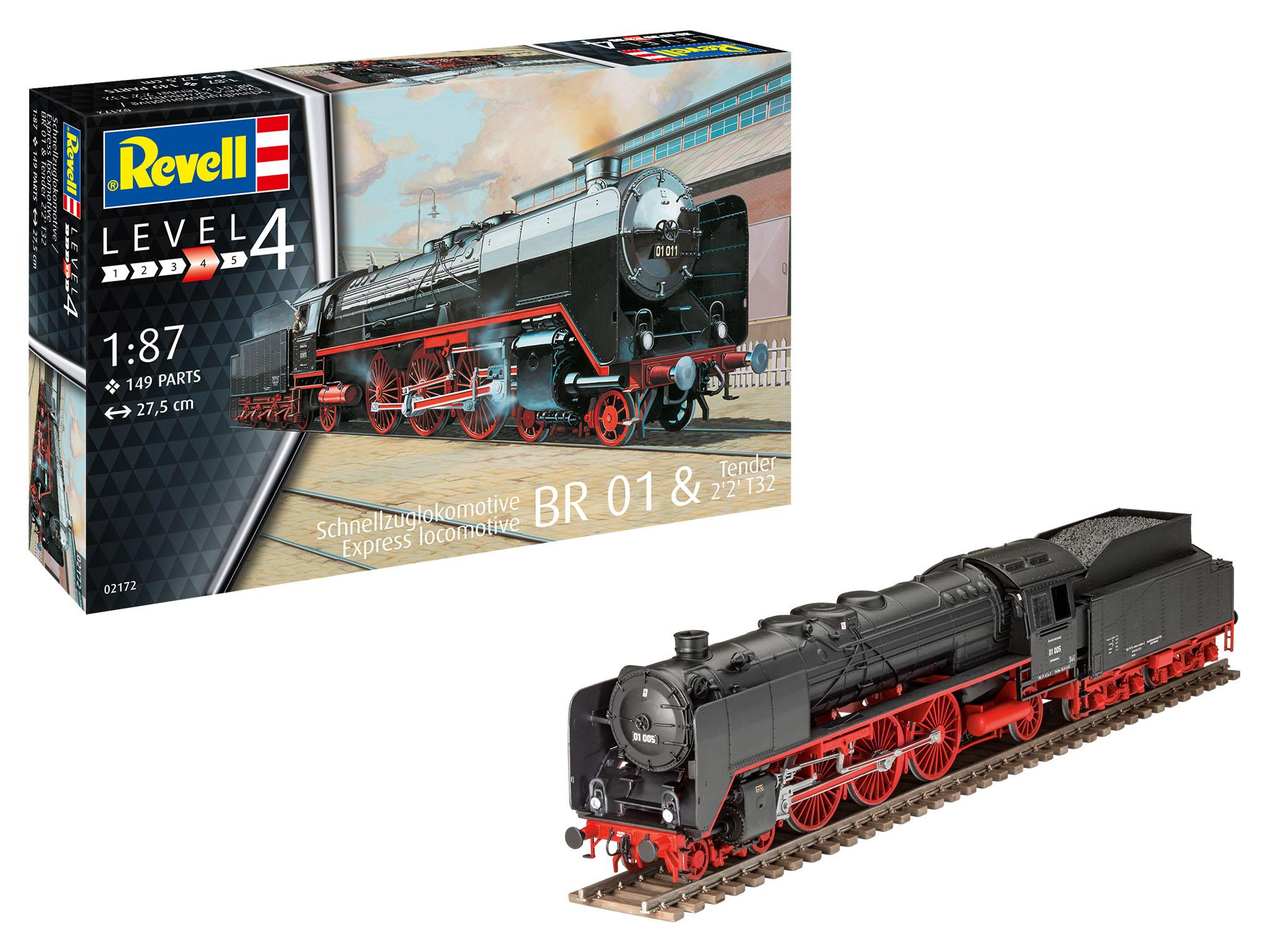 Revell-02172_Schwere_Schnellzuglok_BR01_01 Revell Neuheiten 2021