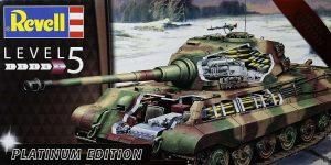 Königstiger Platinum Edition in 1:35 von Revell #03275