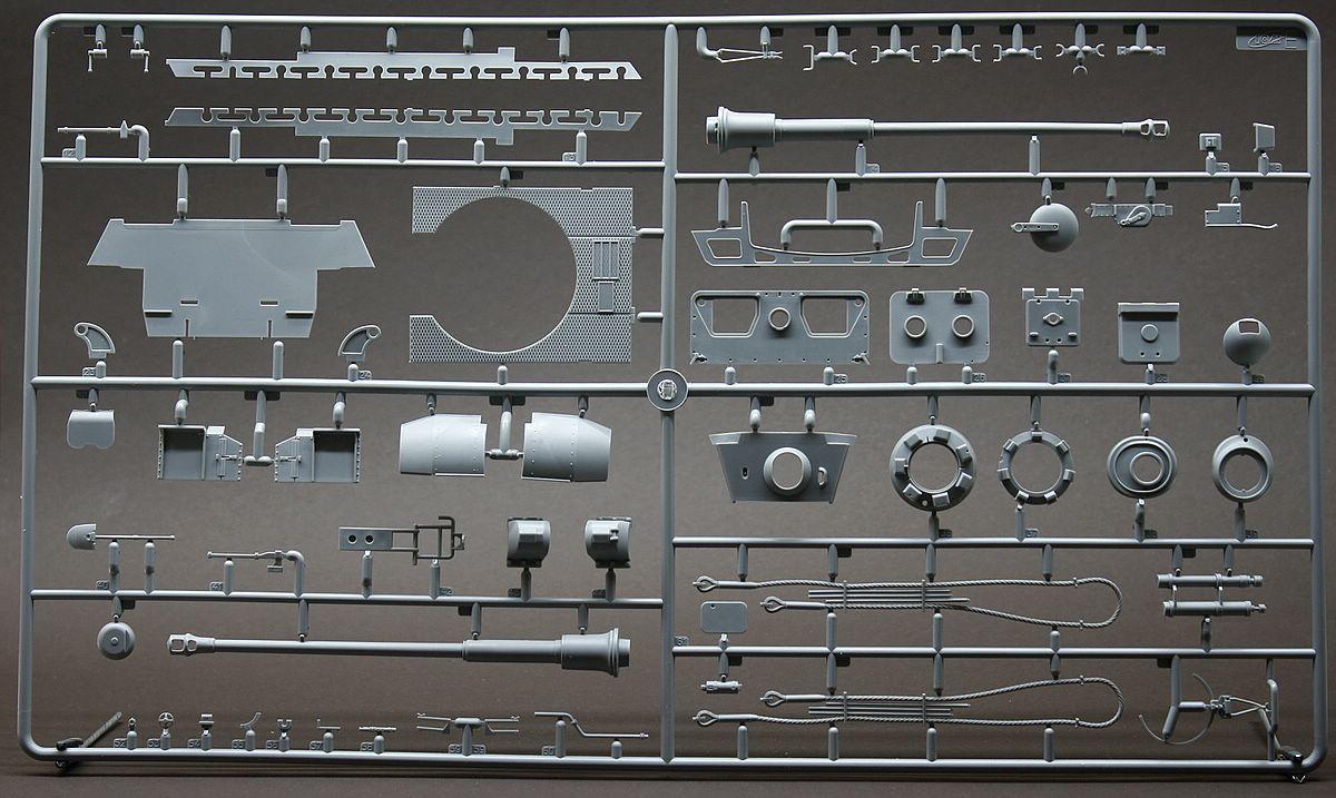 Revell-03275-Tiger-II-Gussrahmen-E Königstiger Platinum Edition in 1:35 von Revell #03275