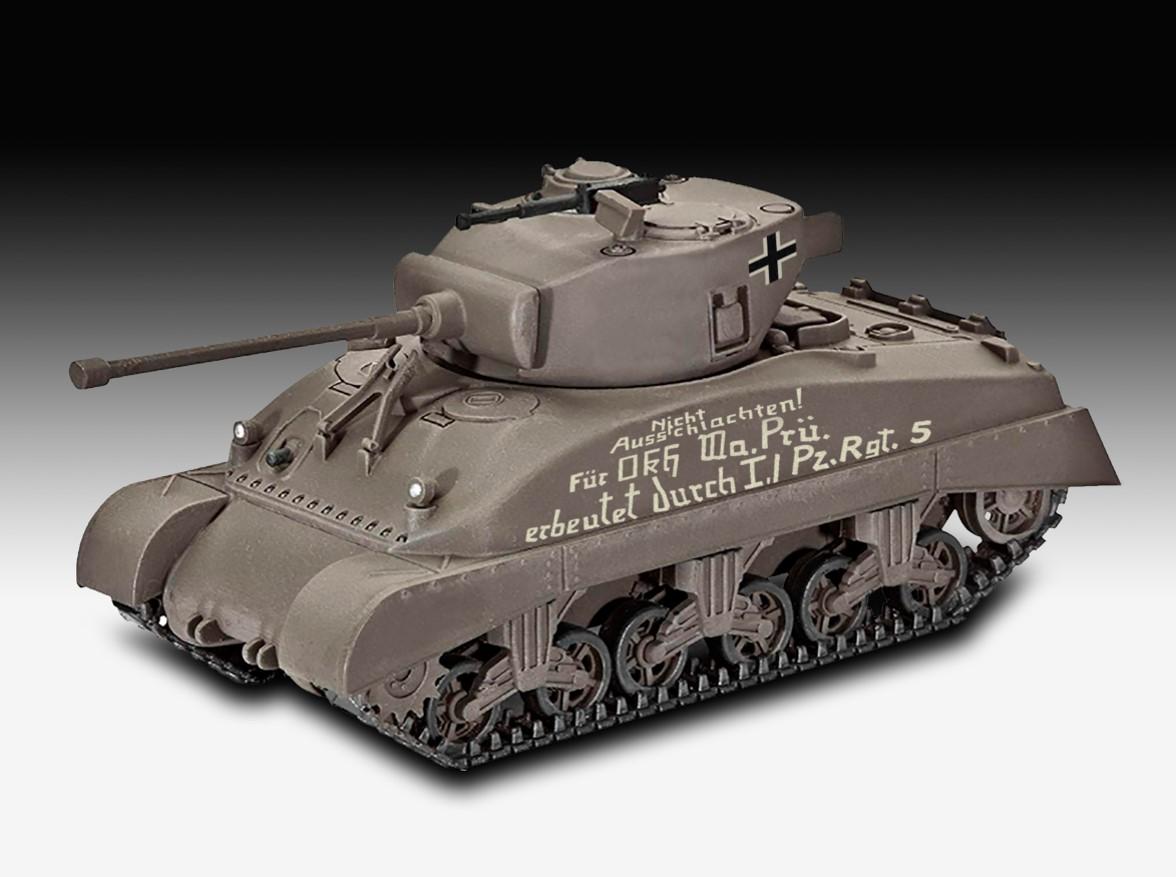 Revell-03290-Sherman-M4A1 Revell Neuheiten 2021