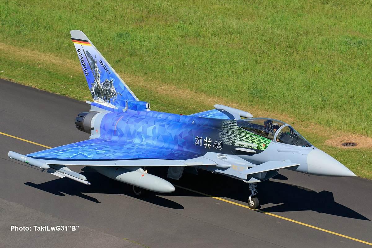 Revell-03843-Eurofighter-Luftwaffe-2020-Quadriga_Photo-TaktLwG31B Revell Neuheiten 2021