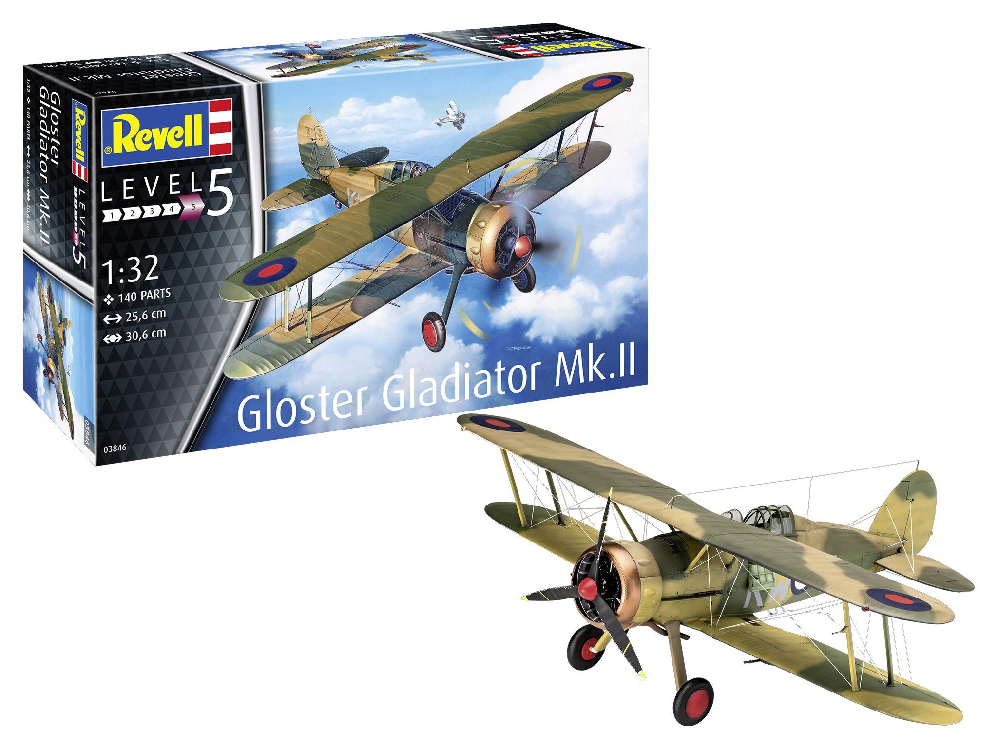 Revell-03846-Gloster-Gladiator-Mk.-II Revell Neuheiten 2021