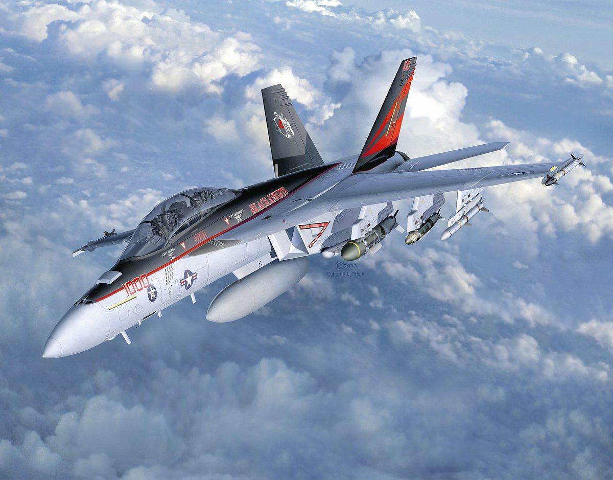 Revell-03847-F-A-18F-Super-Hornet Revell Neuheiten 2021