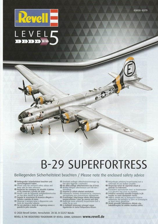 Revell-03850-B-29-Superfortress-Platinum-Edition-24 B-29 Superfortress Platinum Edition in 1:48 von Revell #03850