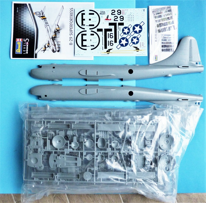Revell-03850-B-29-Superfortress-Platinum-Edition-3 B-29 Superfortress Platinum Edition in 1:48 von Revell #03850