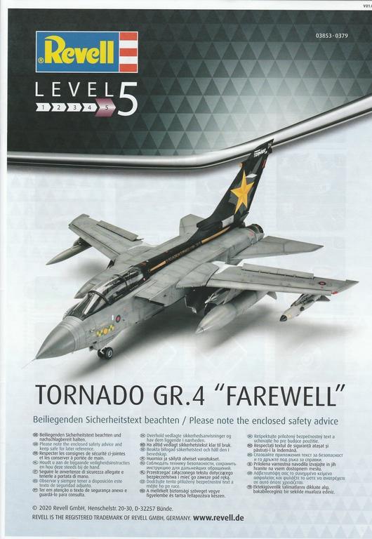 "Revell-03853-Tornado-GR.-4-Farewell-3 Revell RAF Tornado ""Farewell"" in 1:48 #03853"