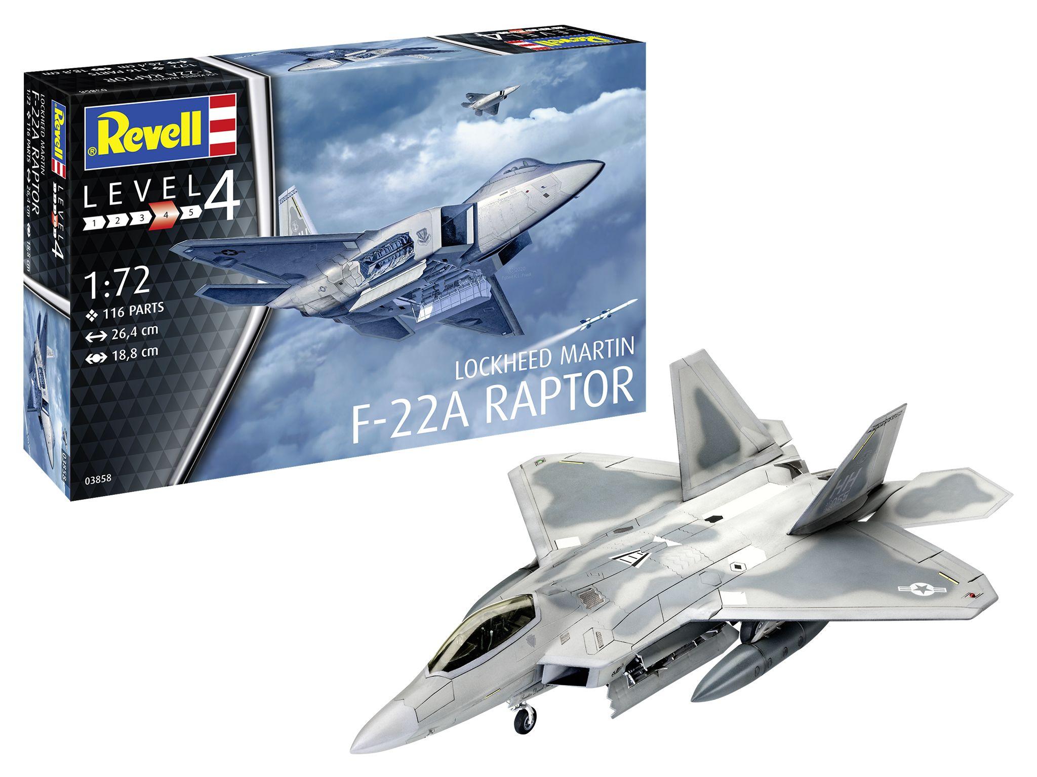 Revell-03858-F-22A-Raptor Revell Neuheiten 2021