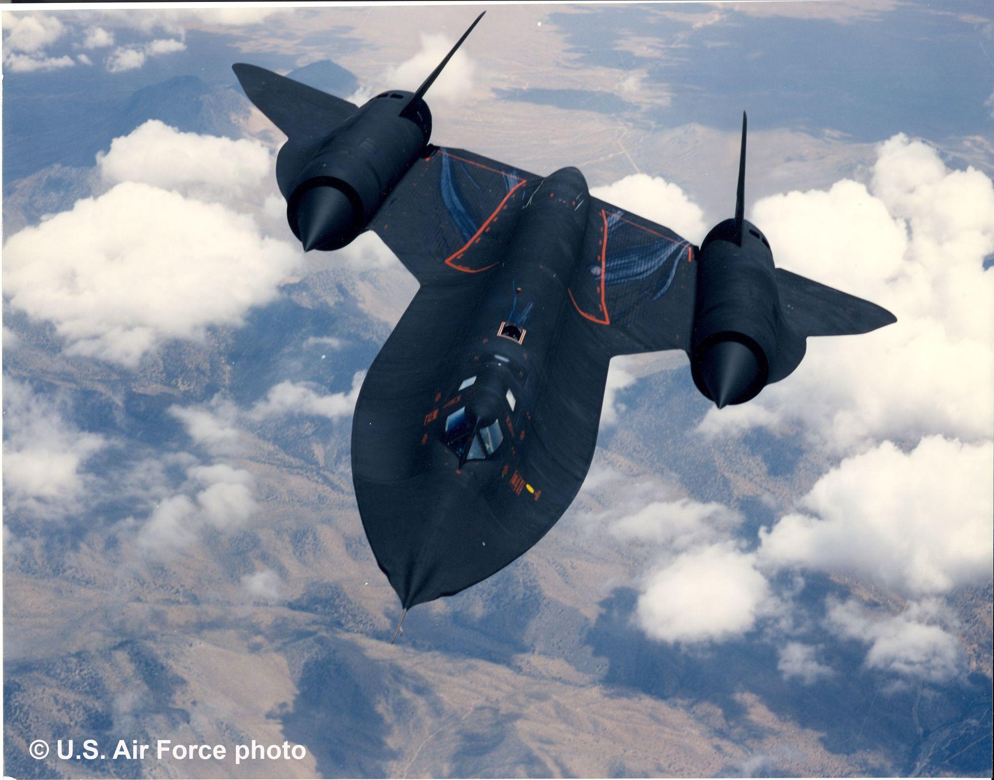 Revell-04967-Lockheed-SR-71-Blackbird-c-U.S.-Air-Force-photo Revell Neuheiten 2021