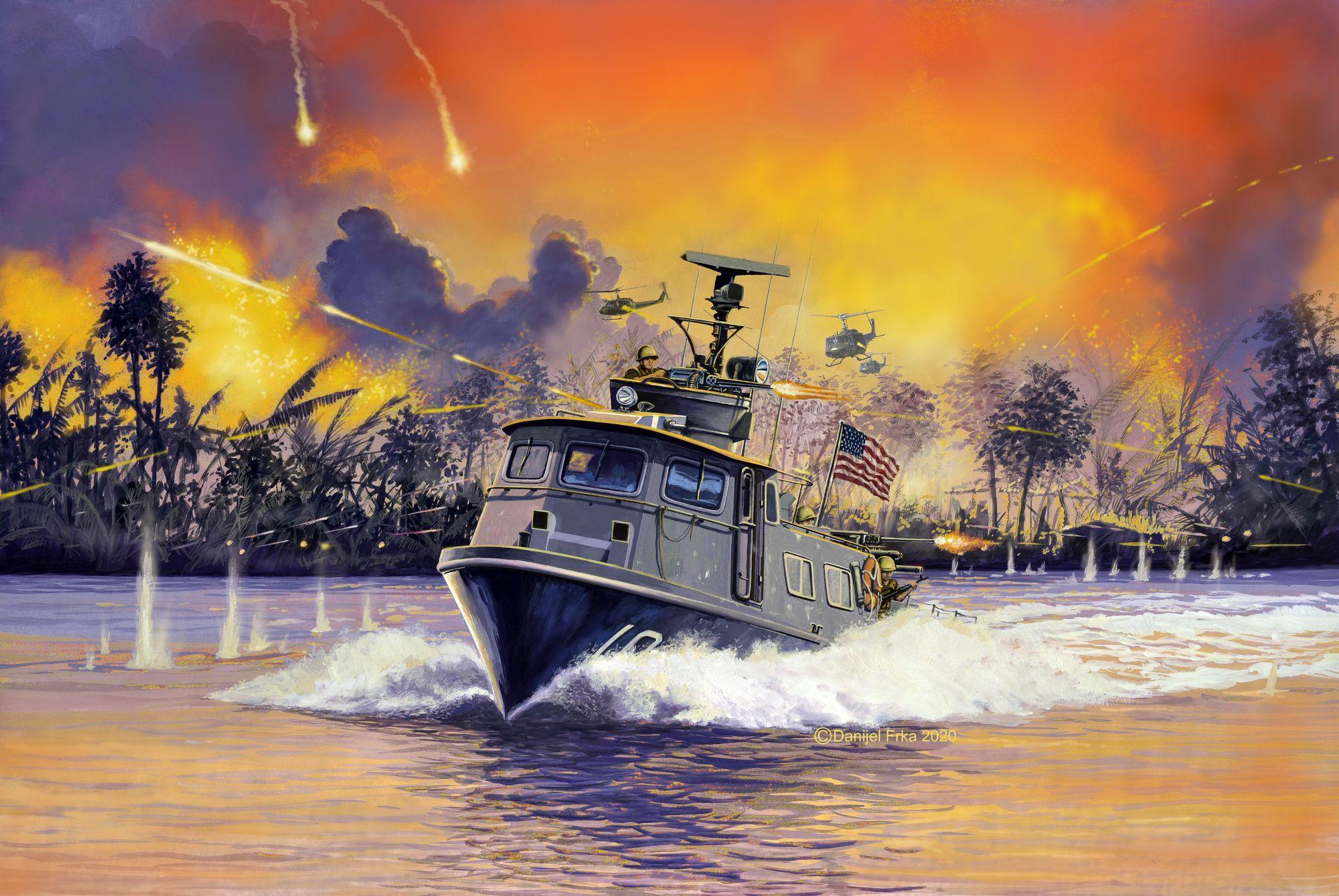 Revell-05176-US-Navy-SWIFT-BOAT-Mk.I Revell Neuheiten 2021
