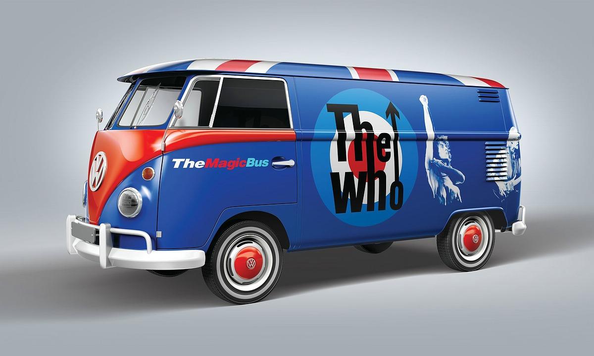 Revell-05672-Gift-Set-VW-T1-The-Who Revell Neuheiten 2021
