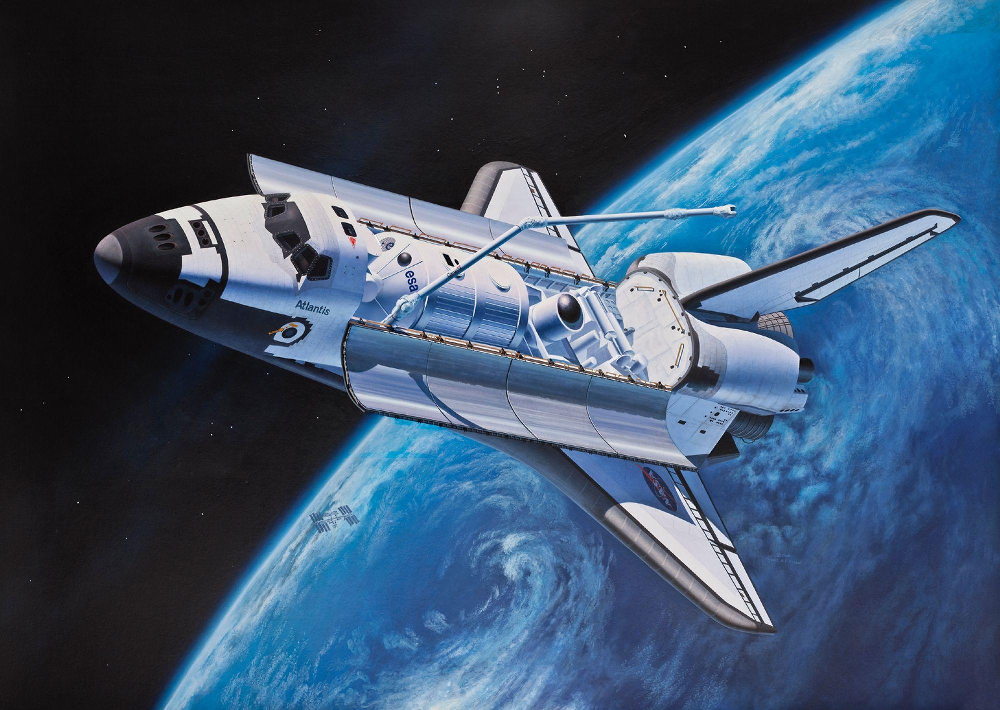 Revell-05673-Gift-Set-Space-Shuttle-40th-Anniversary Revell Neuheiten 2021
