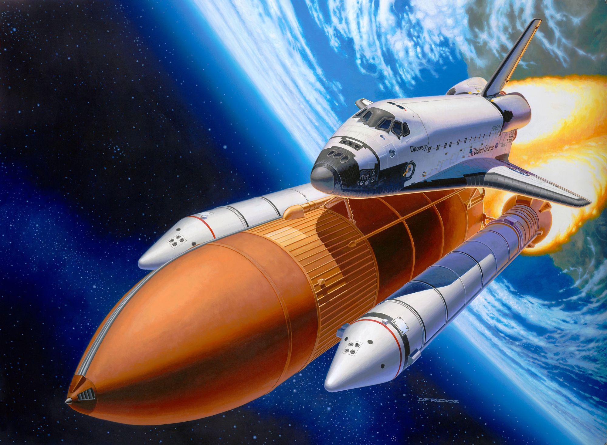 Revell-05674-Gift-Set-Space-Shuttle-Booster-Rockets-40th-Anniversary Revell Neuheiten 2021