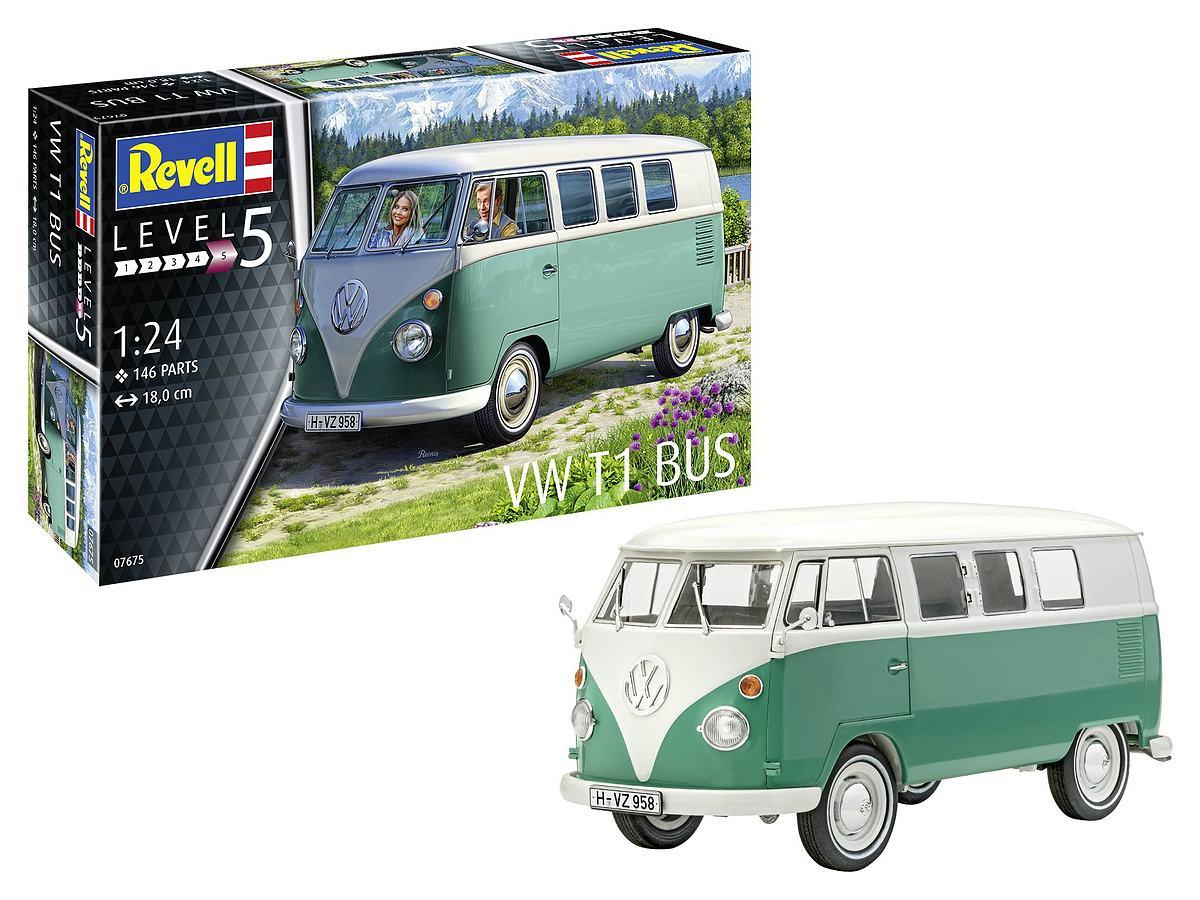 Revell-07675-VW-T1 Revell Neuheiten 2021