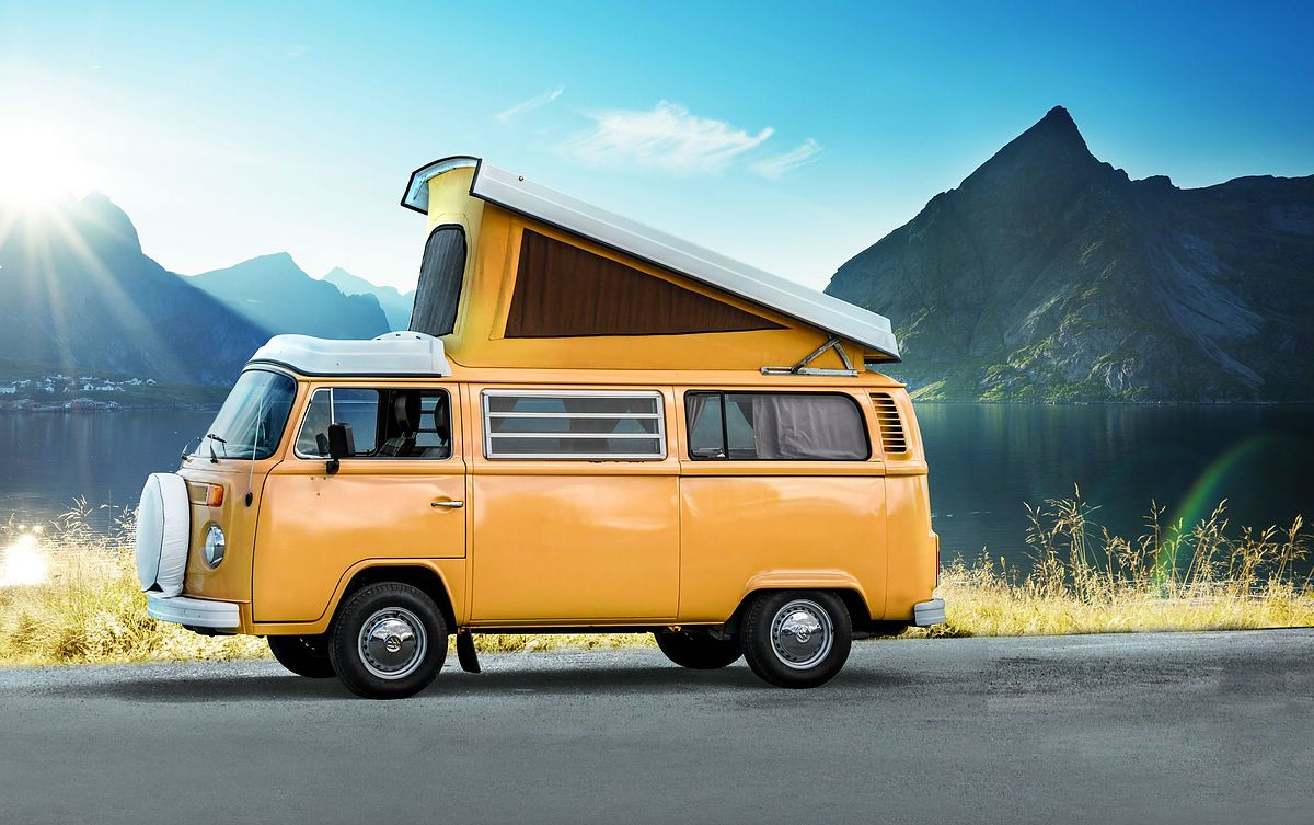 Revell-07676-Easy-Click-VW-T2-Camper Revell Neuheiten 2021