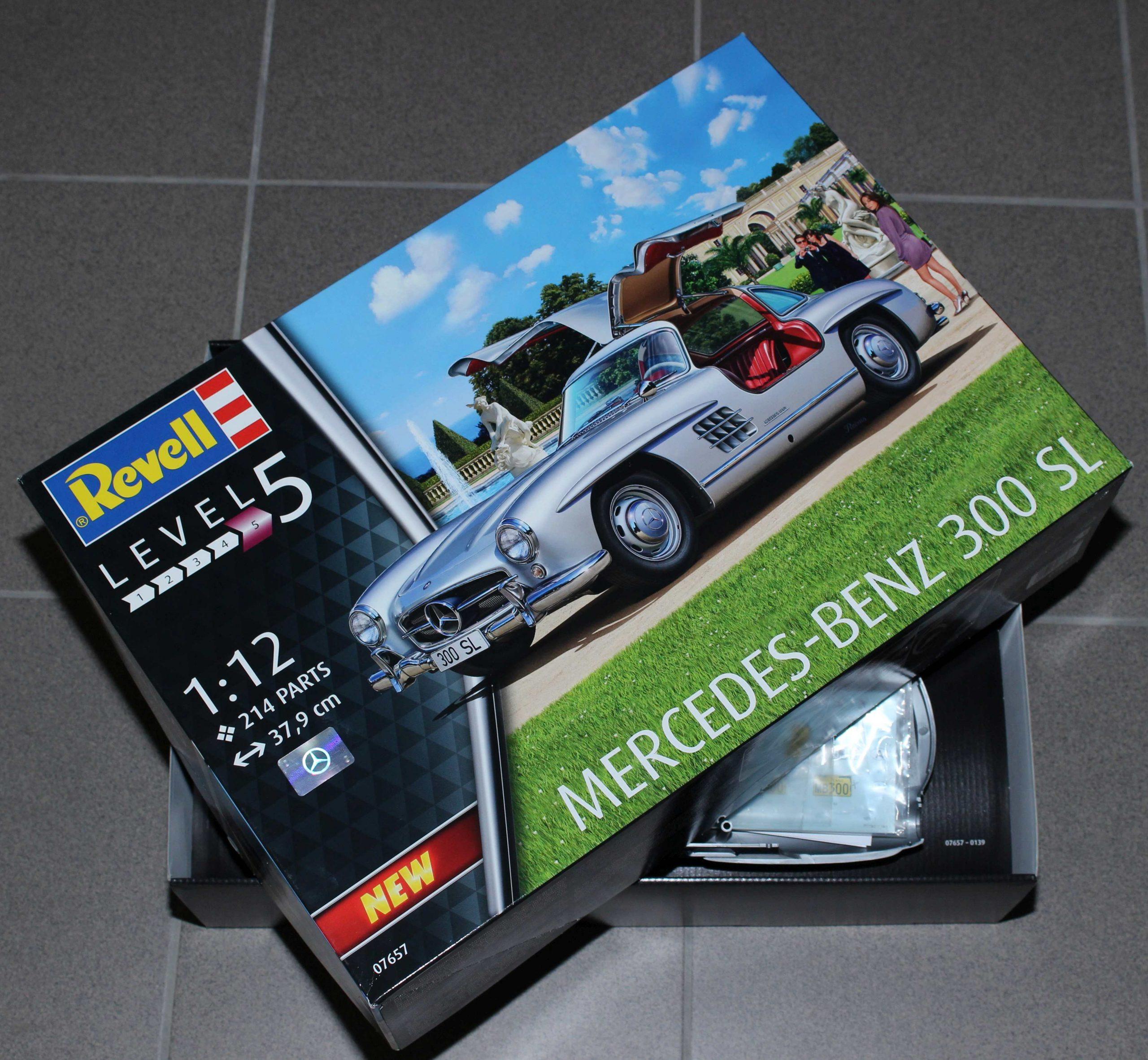 300SL_03-scaled Mercedes 300 SL von Revell in 1:12