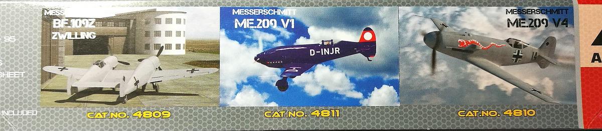 AA-Models-4810-Messerschmitt-Me-209-V4-59 Messerschmitt Me 209 V4 in 1:48 von A&A Models # 4810