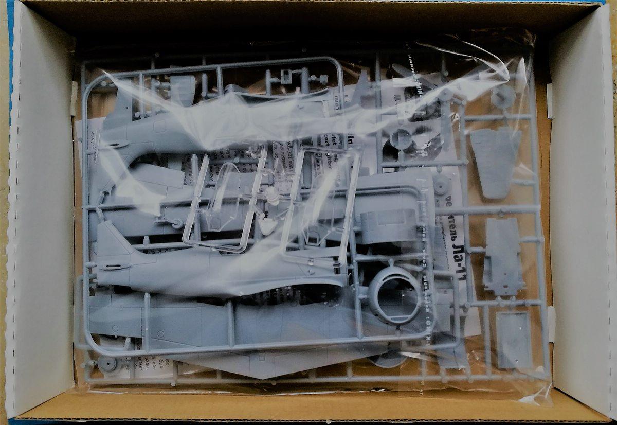ARK-Models-AK-48050-Lavochkin-La-11-2 Lavochkin La-11 in 1:48 von ARK Models #AK 48050