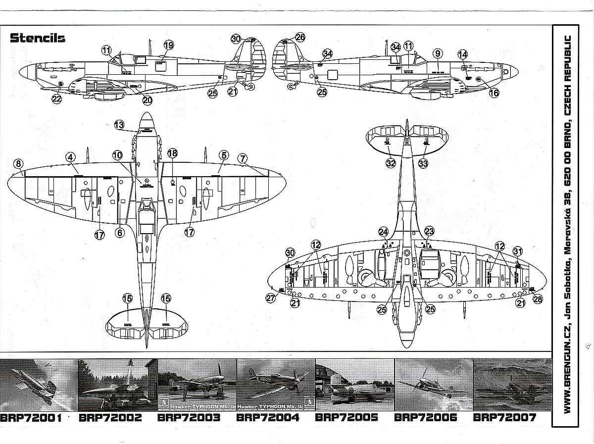 Brengun-BRP-72009-Spitfire-Mk.-Vb-Floatplane-27 Spitfire Mk. Vb Floatplane in 1:72 von Brengun # BRP 72009