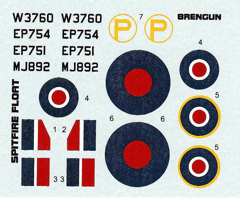 Brengun-BRP-72009-Spitfire-Mk.-Vb-Floatplane-28 Spitfire Mk. Vb Floatplane in 1:72 von Brengun # BRP 72009