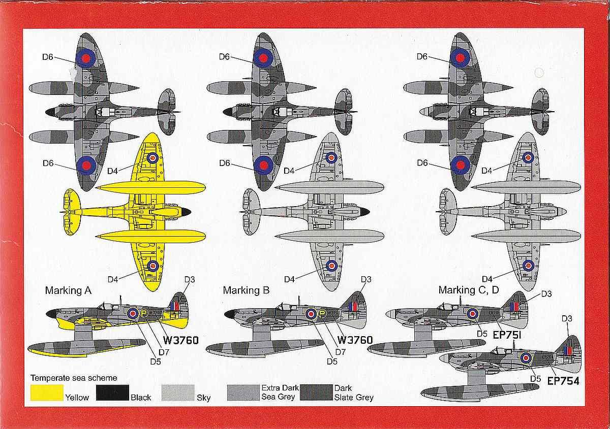 Brengun-BRP-72009-Spitfire-Mk.-Vb-Floatplane-30 Spitfire Mk. Vb Floatplane in 1:72 von Brengun # BRP 72009