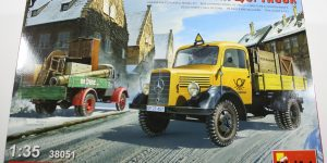 "MiniArt 38051 ""L 1500S German 1,5T Truck"" – 1/35"