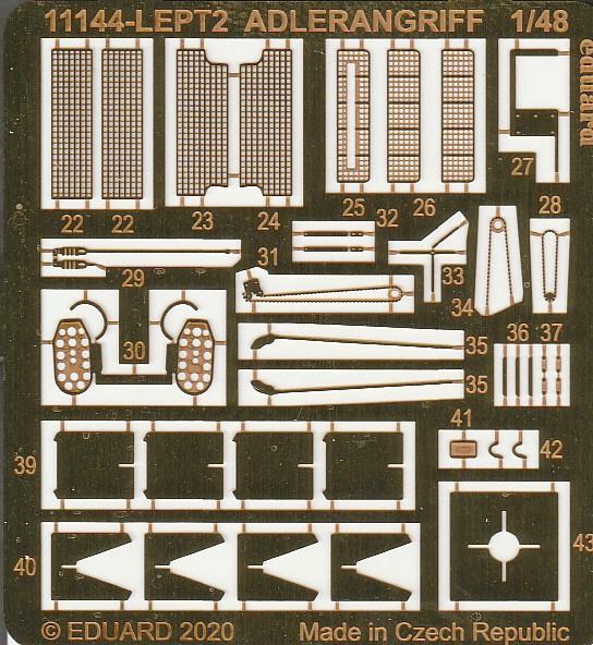 """Eduard-11144-Adlerangriff-15 Eduard Limited Edition """"Adlerangriff"""" (die Bf-109 in der Luftschlacht um England) in 1:48 #11144"""