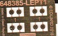 """Eduard-648564-GBU-54-9 GBU-54 """"Non-Thermally Protected"""": Bomben von Eduard Brassin in 1:48 #648564"""