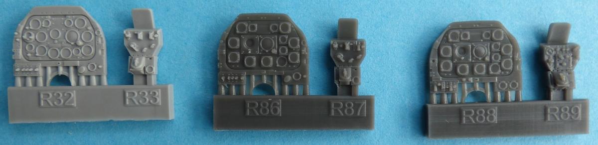 Eduard-648600-F-6D-Cockpit-11 Cockpit Detaillierungsset für die F-6D Mustang Aufklärer von Eduard in 1:48 #648600