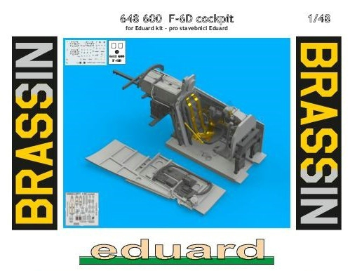 Eduard-648600-F-6D-Cockpit-26 Cockpit Detaillierungsset für die F-6D Mustang Aufklärer von Eduard in 1:48 #648600