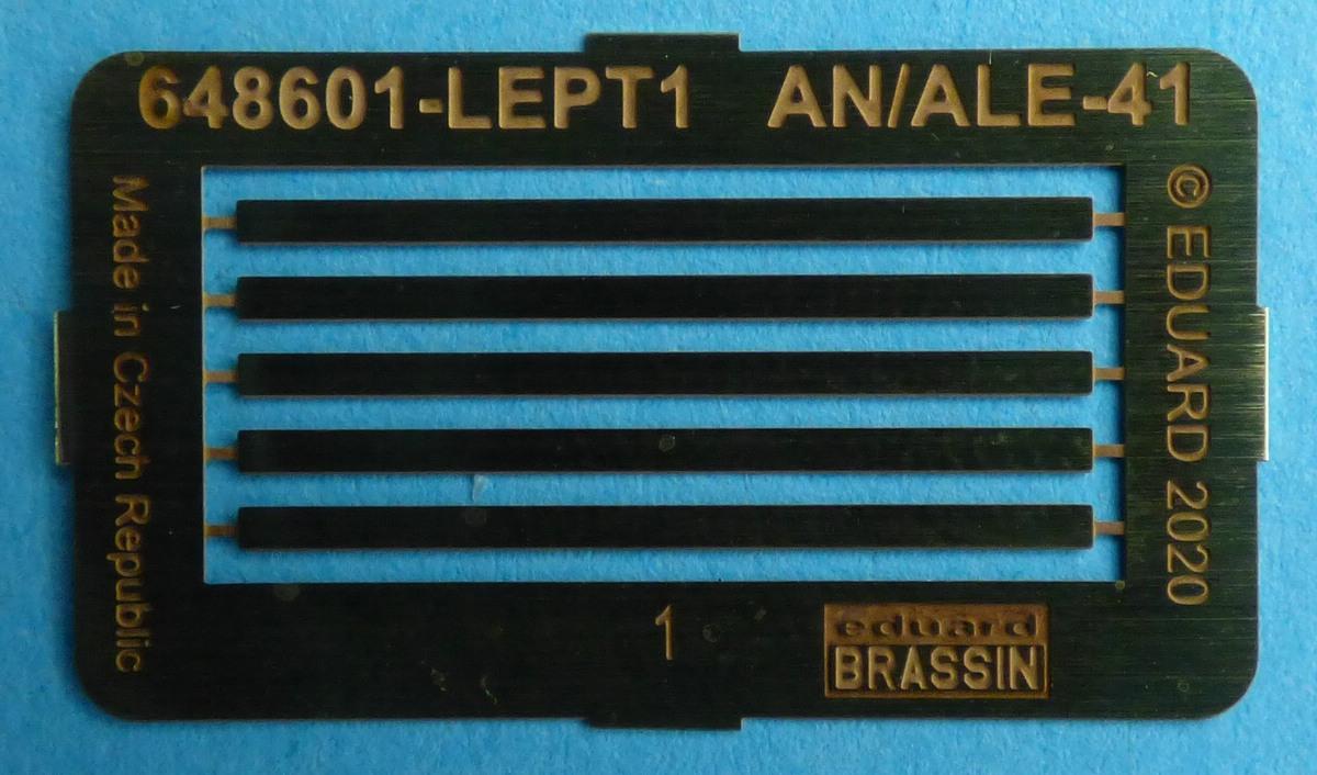 Eduard-648601-AN-ALE-41-Chaff-Dispenser-7 AN/ALE-41 Caff-Dispenser von Eduard Brassin in 1:48 #648601
