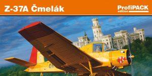 Let Z-37 Cmelak als ProfiPack in 1:72 von Eduard # 7097