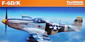 F-6 D/K Profi-Pack von Eduard in 1:48 #82103