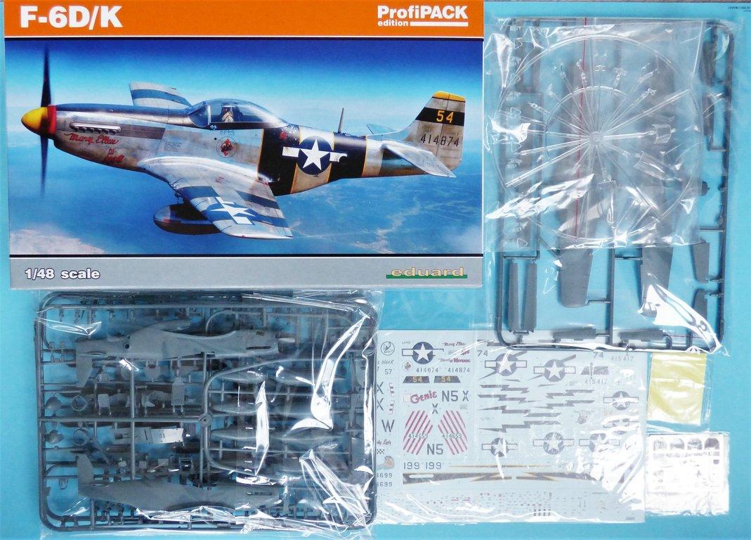 Eduard-82103-F-6-D-2 F-6 D/K Profi-Pack von Eduard in 1:48 #82103